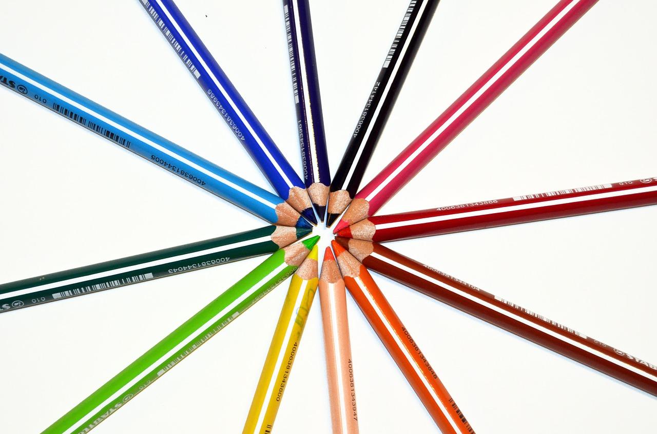 Flat design lubi wyraziste barwy