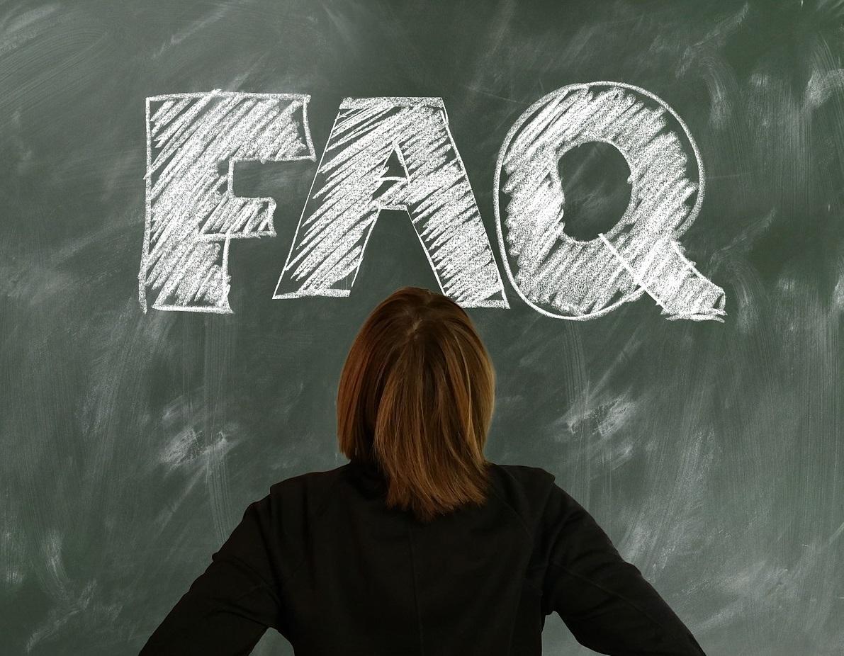 Sekcja FAQ w sklepie internetowym