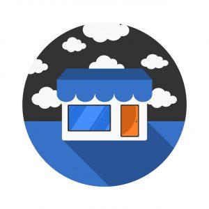 Facebook Marketplace - ikona w aplikacji