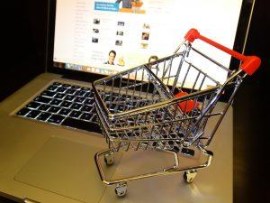 Koszyk zakupowy, zakupy internetowe