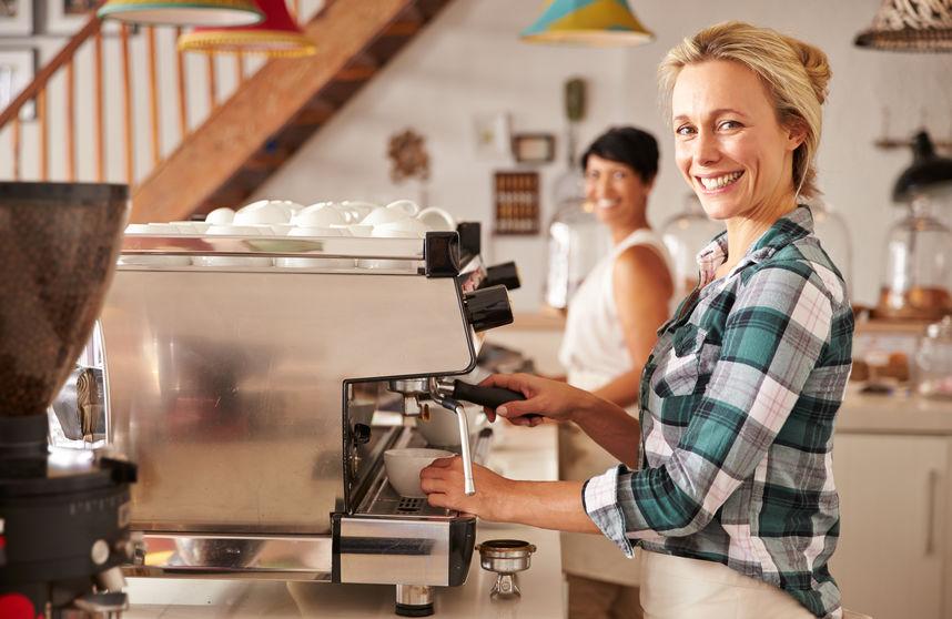 Kawiarnia - przykład lokalnego biznesu w Chorzowie
